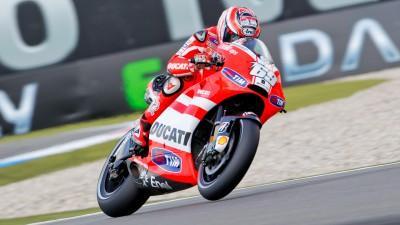 Ducati quiere confirmar sus progresos `en casa´ de Hayden