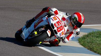 Simoncelli and Aoyama search for grip at Indianapolis