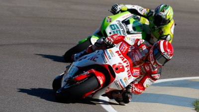 Barberá finishes day one at the Brickyard in thirteenth