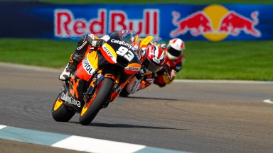 Márquez s'empare de la pole Moto2 à Indianapolis