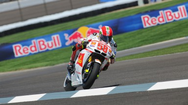 Third row for Simoncelli as Aoyama qualifies 13th