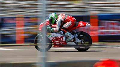 125cc warm up concludes with Vázquez on top