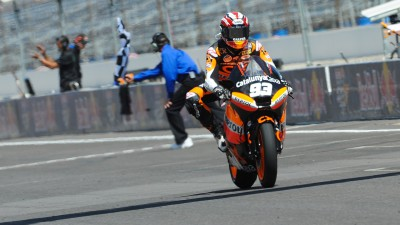 Márquez masters the Brickyard