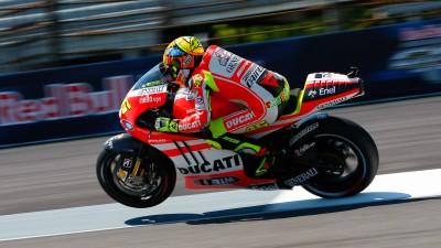Carrera difícil para el equipo Ducati en Indianápolis