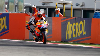 Stoner regains the lead in Misano qualifying