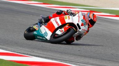 Bradl commands Moto2 qualifying