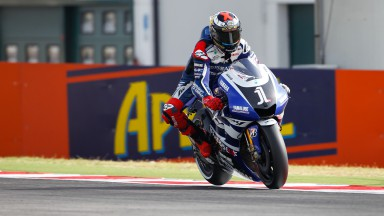 Lorenzo starts second, aims for first