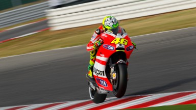 Positive home race race for Rossi