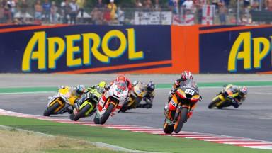 Márquez sigue acortando distancias con Bradl