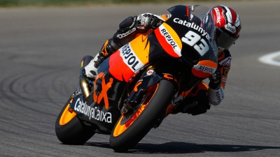 Moto2 riders test at Valencia