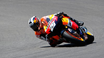 Pedrosa tops first day at Aragón, second free practice cancelled