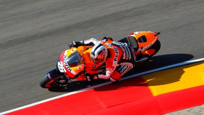 Repsol Honda Team starts strong at Aragon in single practice session