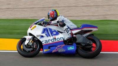 Abraham saldrá desde el octavo puesto en la carrera de MotorLand