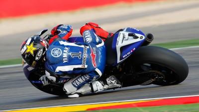 Lorenzo takes his first Aragón Grand Prix podium