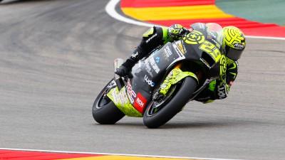 Iannone recupera e conquista il secondo posto ad Aragón