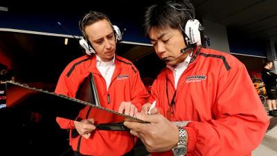 Masao Azuma, de Bridgestone, analiza el GP de Aragón