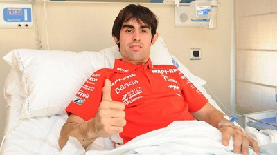 Simón undergoes further surgery on recovering leg