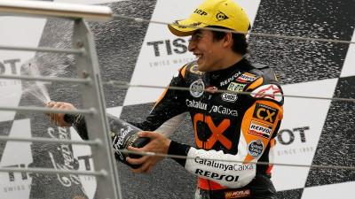 M.マルケス、新人王確定の6ポイント差で日本GPに挑戦