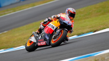 Stoner stuns with tenth pole position