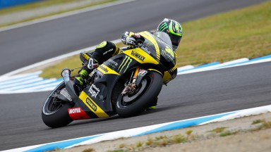 Crutchlow close to third row in Japan