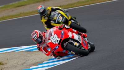 Bad luck for Ducati at Motegi following a promising weekend