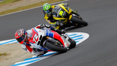 Shinichi Ito proud to race for HRC, bringing hope to East Japan
