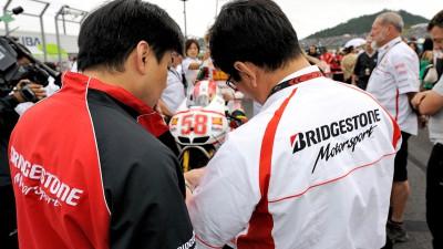 Bridgestone reviews a drama-filled Japanese GP