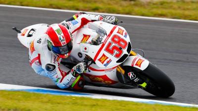 Un faux départ prive Simoncelli de podium au Japon