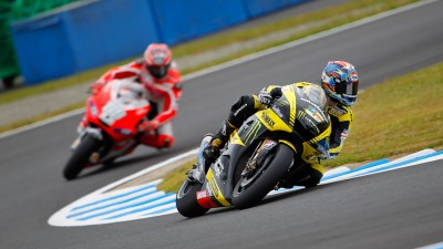 Edwards and Crutchlow take points in incident-packed Motegi race