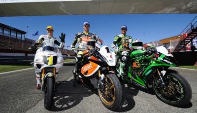 Fenati, Silva and Torres: the new Road Racing European Champions