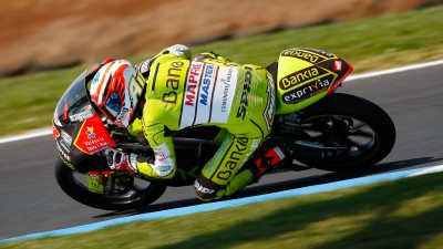 Terol leads the morning in Phillip Island
