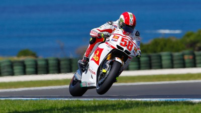 Simoncelli on front row down under