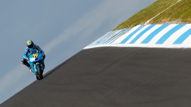Bautista caught out by the weather at an unpredictable Phillip Island