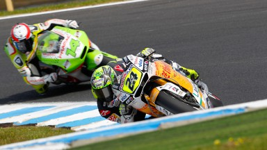 Elías secures eighth place after tough GP in Phillip Island
