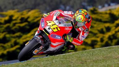 Ducati Team continue work on GP11.1 in Malaysia