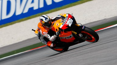Pedrosa completely in charge at Sepang
