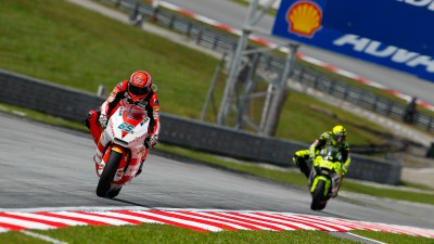 Bradl leads while Márquez sits out