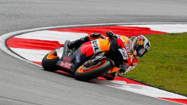 Pedrosa storms to pole in Malaysia