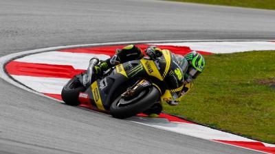 Edwards firma su mejor calificación en la tórrida pista de Sepang