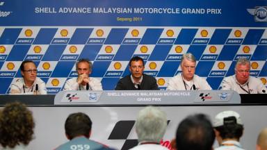 Conferenza stampa della Direzione Gara: Marco Simoncelli