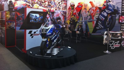 MotoGP ein Star der Brand Licensing Europe Messe in London