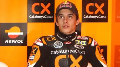 Ancora in dubbio la presenza di Marquez a Valencia