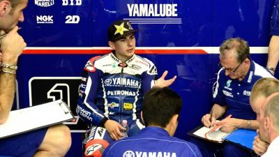Lorenzo no correrá en Valencia