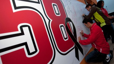 Simoncelli remembered throughout Valencia weekend