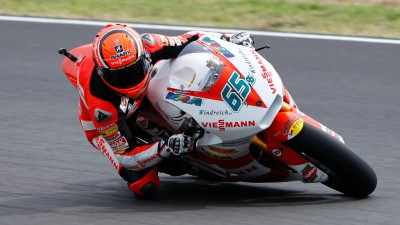 Bradl tops first practice at Valencia