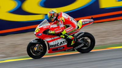 Ducati Team starts Valencia weekend well