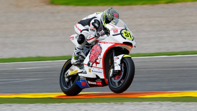 Pirro on pole in rain hindered qualifying, Bradl claims Moto2 title