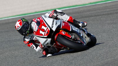 Spies bounces back for front row start in Valencia