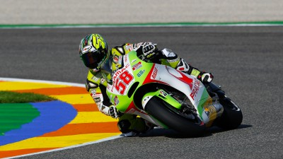 De Puniet just misses first row, Capirossi on row four