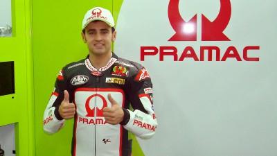 Pramac bestätigt Barberá für 2012